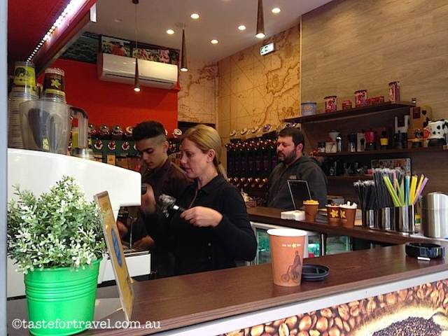 Coffee Island in Kolonaki