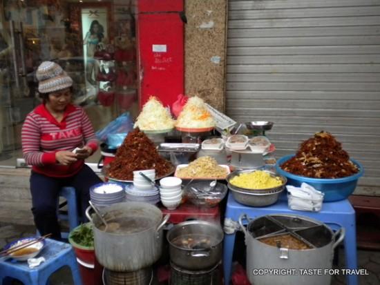 Street cooking, Hanoi