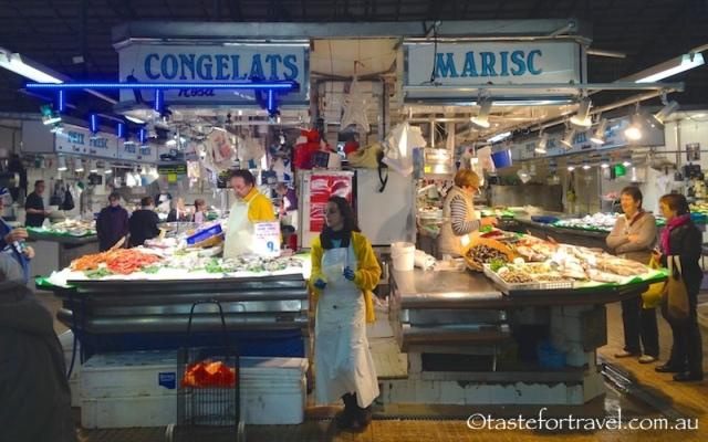 Mercat de l'Abaceria, Gracia, Barcelona