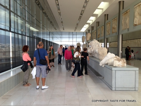 Tourists at the Acropolis Museum, Taste for Travel