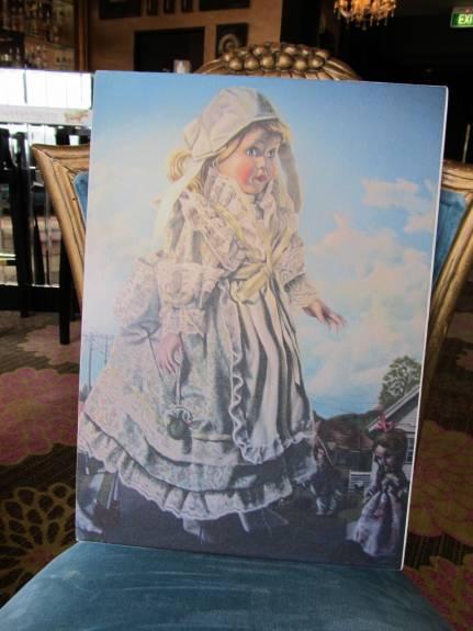 Artwork in the Art Museum Hotel
