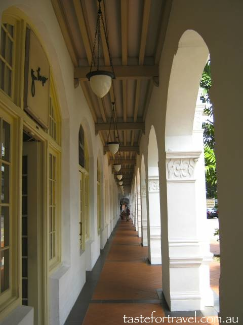 Ground floor Raffles Hotel