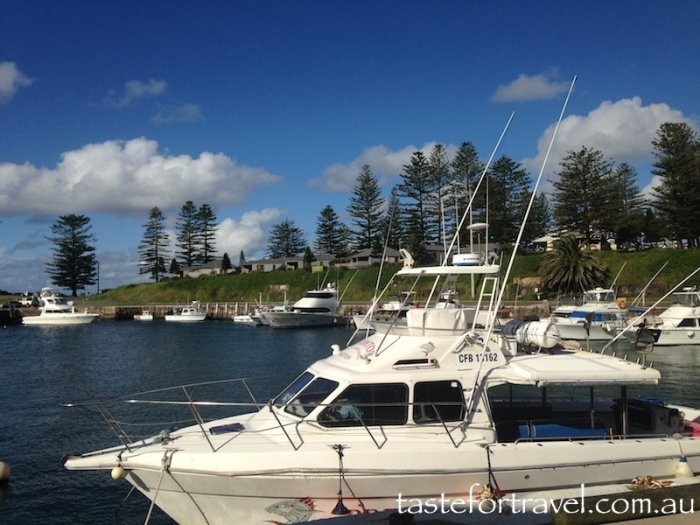 Kiama boat harbour a safe haven