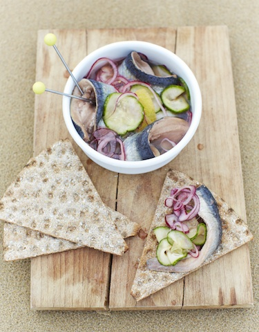 Quick Pickled Sardines