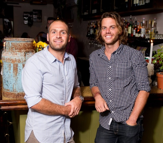 Owners Ben Carroll, Hamish Watts