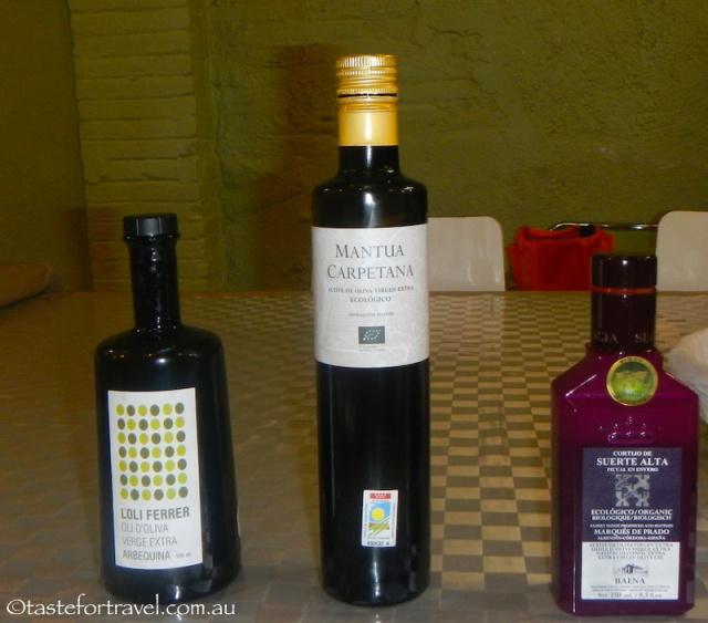 organic olive oils, Barcelona