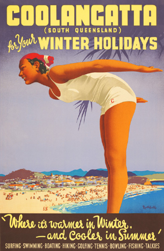 Queensland vintage travel posters 2