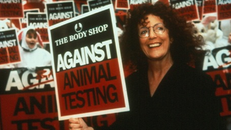 The late founder of The Body Shop, Anita Roddick, was a passionate advocate