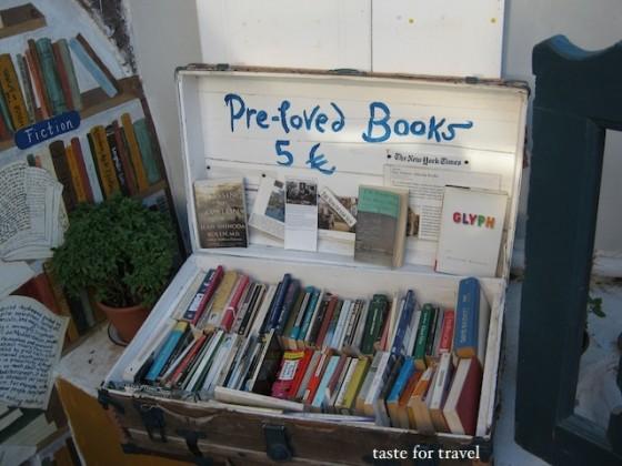 Pre-loved book, Atlantis Books, Taste for Travel