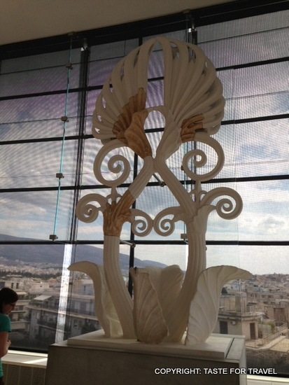 Acropolis Museum artefact reconstruction, Taste for Travel