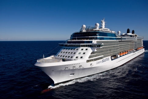 The five-star Celebrity Solstice