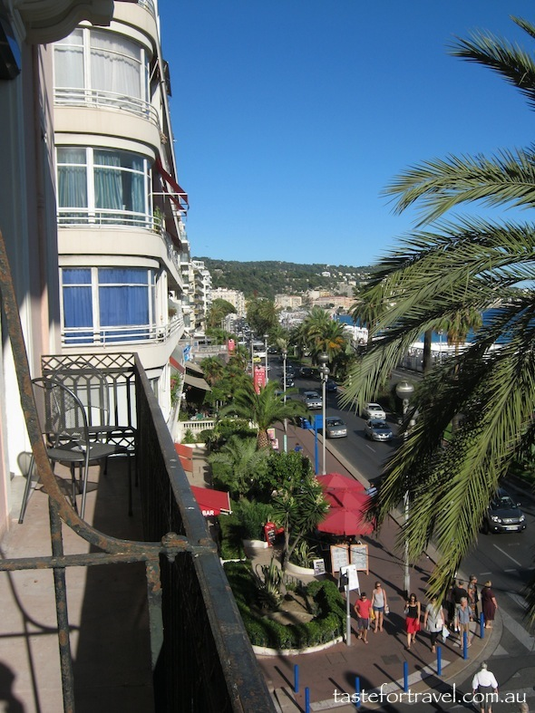 View of Nice from Hotel Westminster