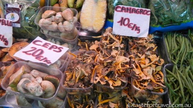 Mushrooms in Barcelon
