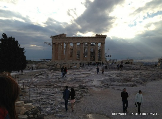 The Parthenon, Taste for Travel