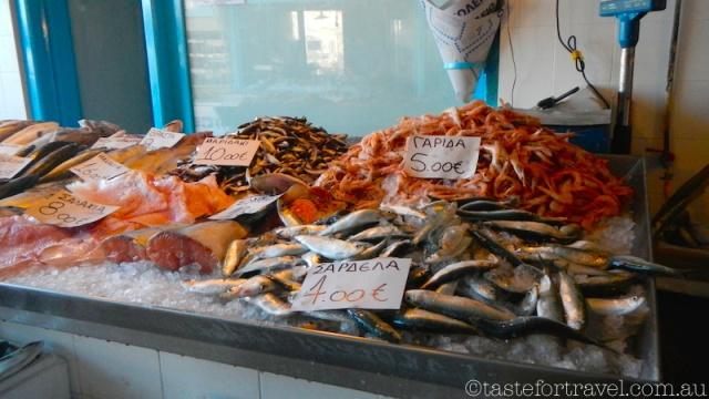 Fish market, Aegina island day trip