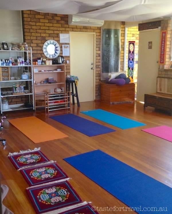 Jaye's yoga studio