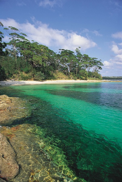 Beautiful Jervis Bay where plastic bags were banned 10 years ago