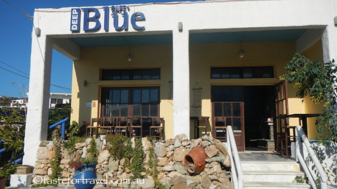 Deep Blue Cafe on Andros