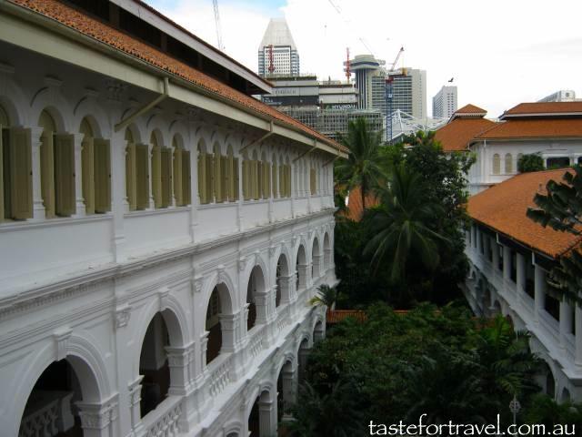 Aspect of Raffles Hotel, Singapore
