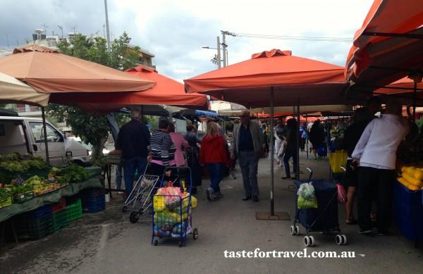 Glyfada market day