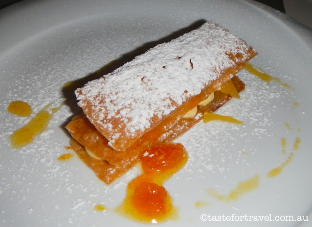 New Greek food, Mille Feuille, Vassilenas