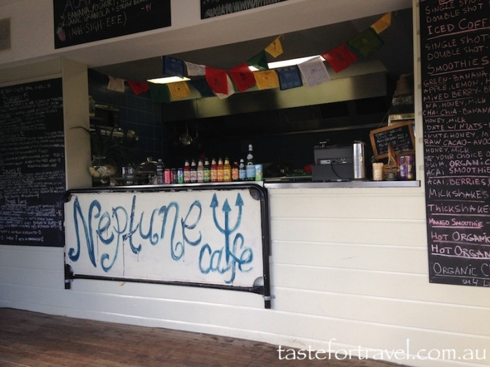 Neptune Cafe counter