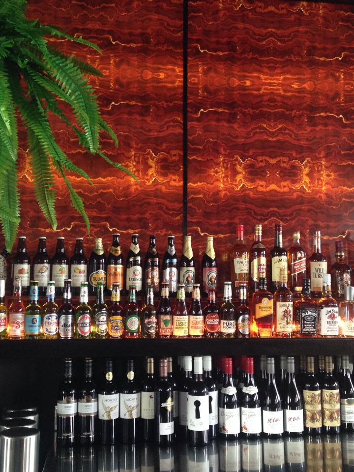 The bar, Onyx Lounge, Newtown