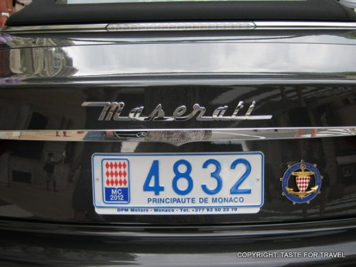 Just another Maserati in Monte Carlo