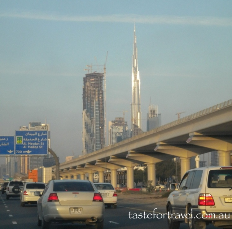 Burj Khalifa shining in late afternoon sun 2010