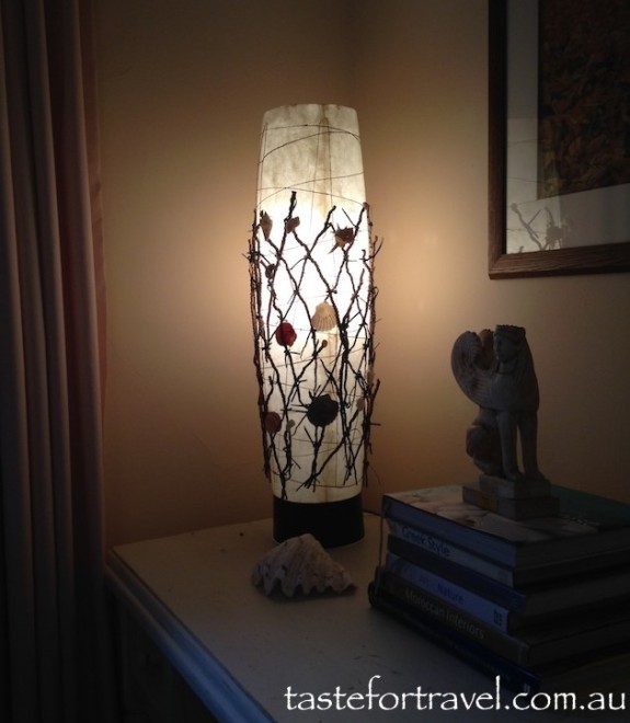 My lamp from Ocean Road Kiama