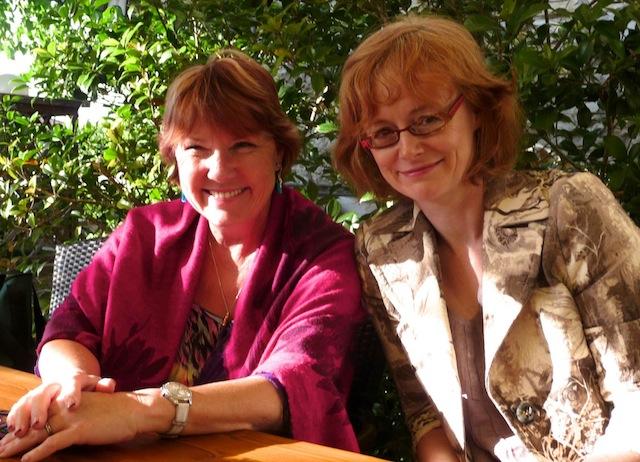 Fiona McArthur and Eliosa James in Tuscany