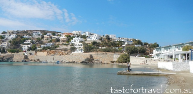 Vari Bay, Syros