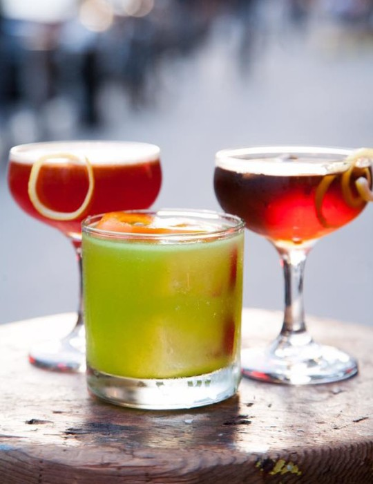 Baijiu cocktails NYC