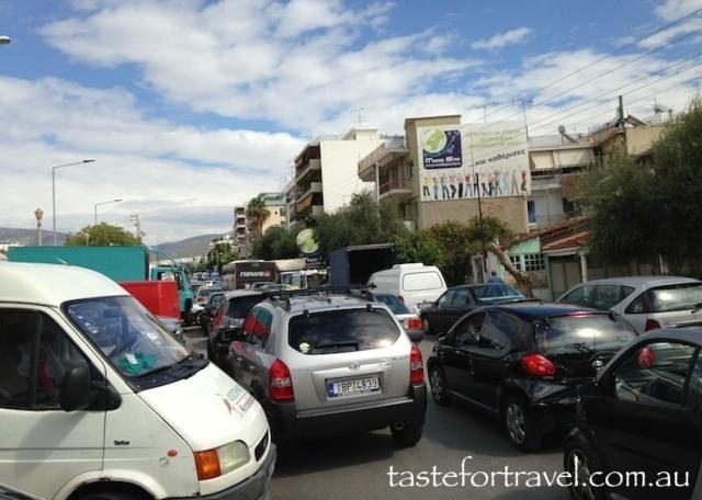 Glyfada traffic