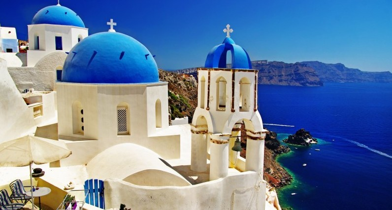 Santorini, Greece,