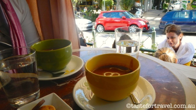 hot chocolate in Athens, Le Petite Fleur in Kifissia