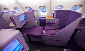 Best and worst airline seats Thai Airways Business Class A380