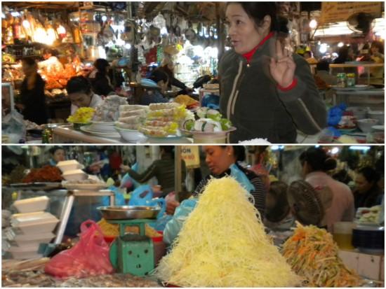 Inside bustling Cho Hom Market