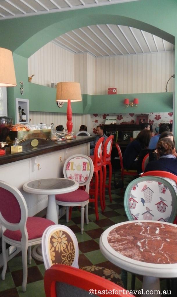hot chocolate in Athens, Le Petite Fleur, Kifissia