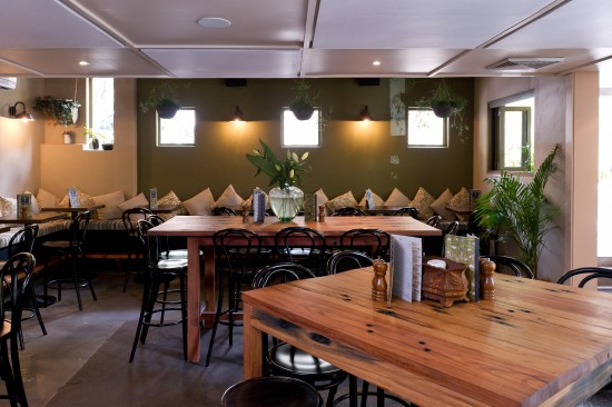 The interior of The Botanist
