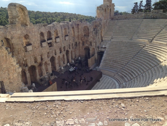 Herod Atticus Theatre, Acropolis, Taste for Travel