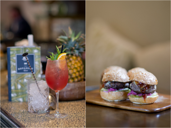 Cocktail and a bite at The Botanist