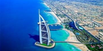 Burj-Al-Arab Hotel in Dubai