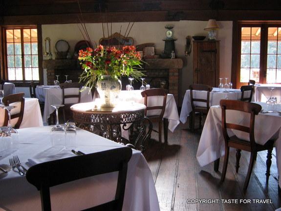 Main dining room Robert's restaurant
