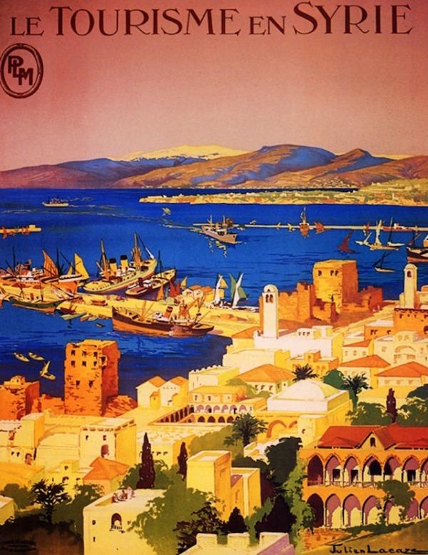 Syria travel poster