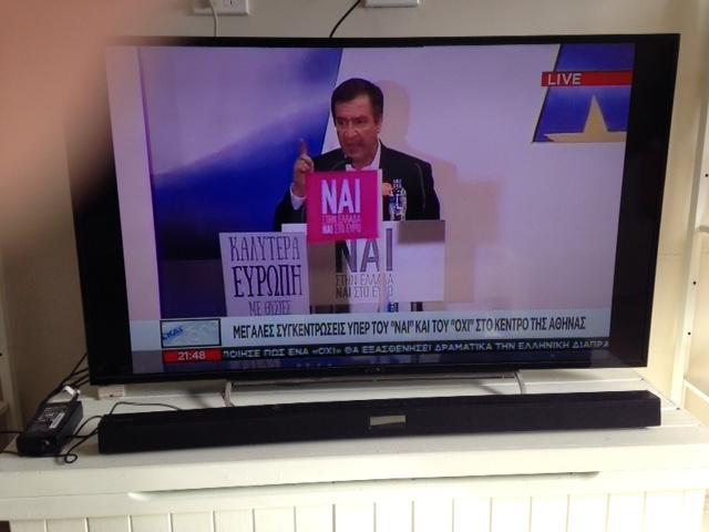 ND politician at NAI rally
