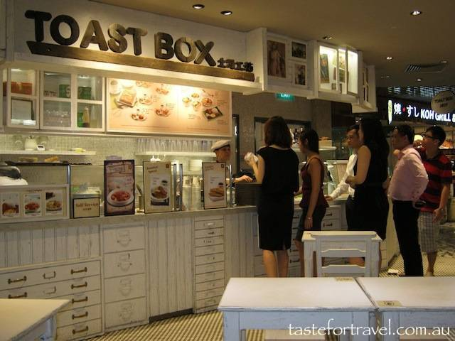 The Toast Box, Singapore