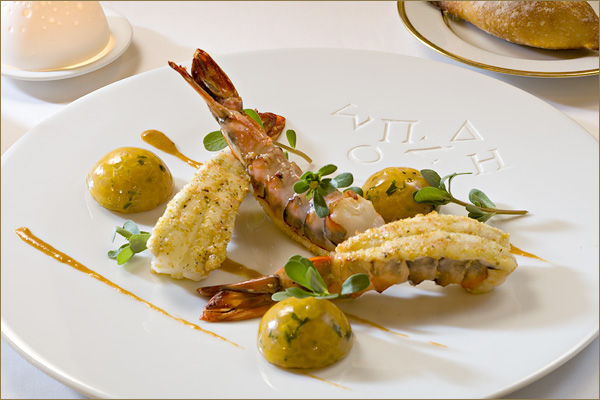 Dish from Spondi