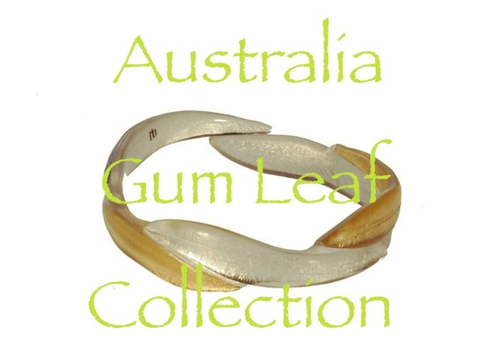 Australia Gum Leaf Collection resin jewellery shop