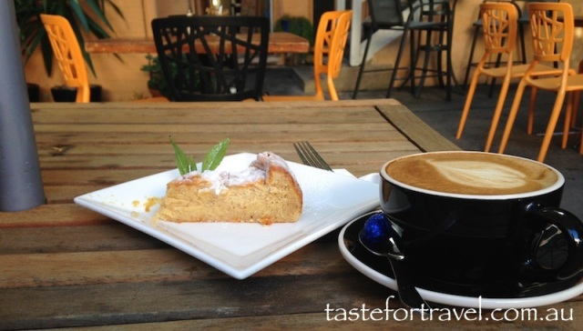 Cake and Coffee at Stone Wall